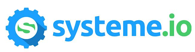 logo systeme io la plataforma clickfunnels en español